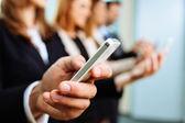Fotografie Smartphone podnikání
