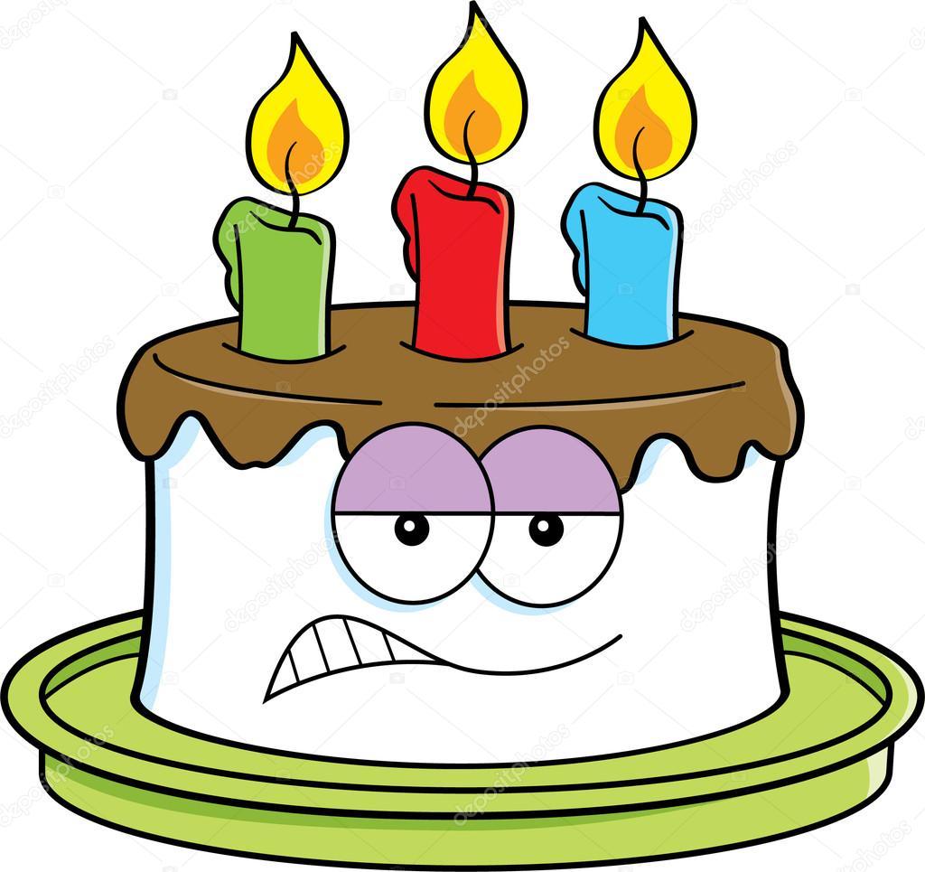 Dibujos: pasteles animados | pastel enojado de dibujos ...  Dibujos: pastel...