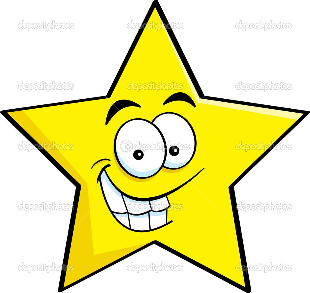 kreslen u00fd usm u00edvaj u00edc u00ed se hv u011bzda stock vektor  u00a9 kenbenner star shape clipart Hexagon Shape Clip Art