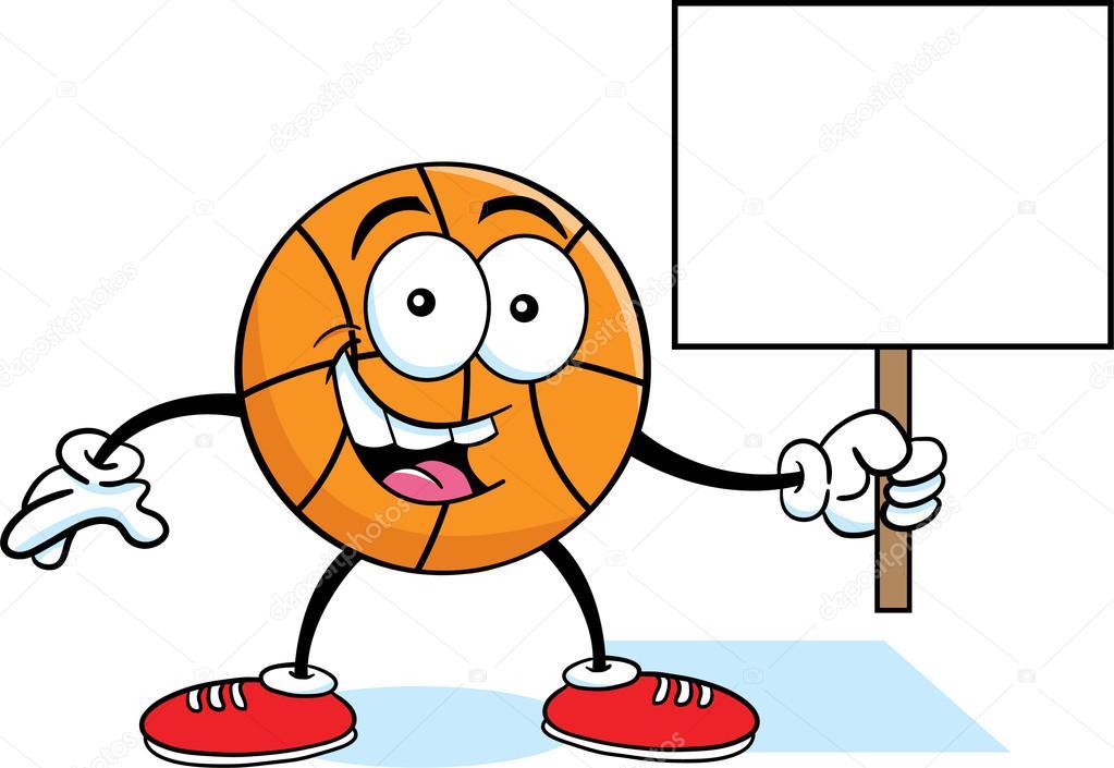 Kresleny Basketbal Drzi Stock Vektor C Kenbenner 16211045