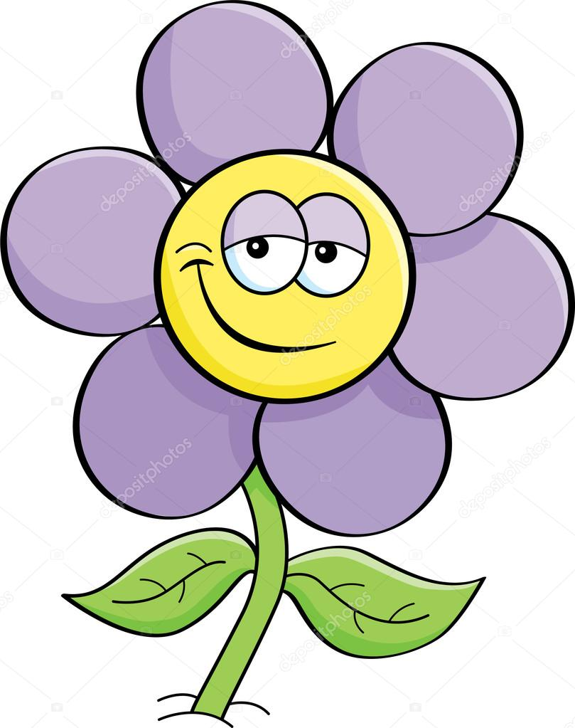 cartoon flower stock vector 16956557
