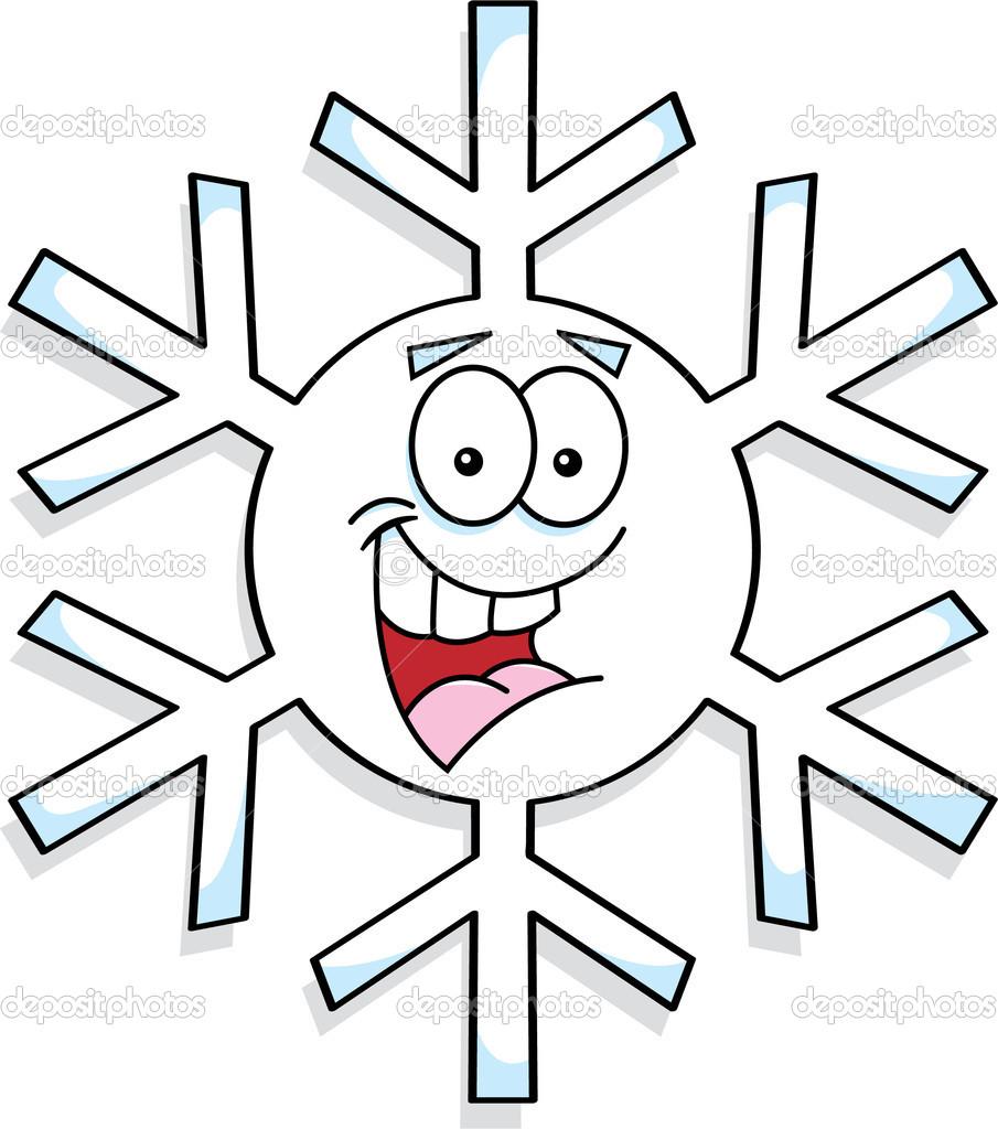 Cartoon Flocon de neige image vectorielle par kenbenner ...