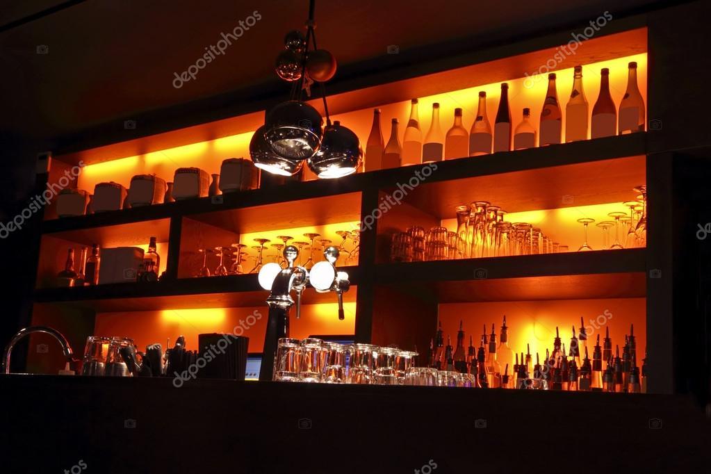 Coctail bar interior