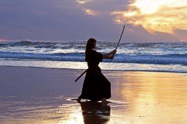 Young samurai women