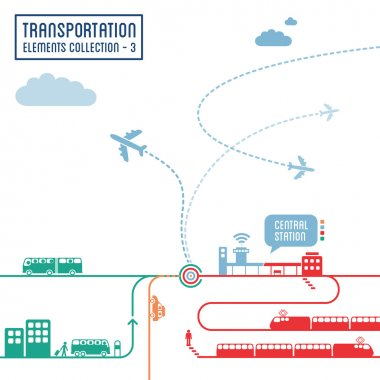 Transportation infographics