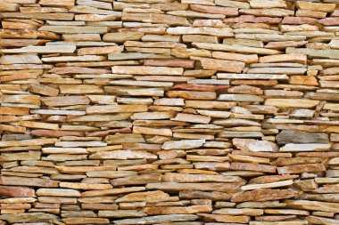 vintage stacked stone background