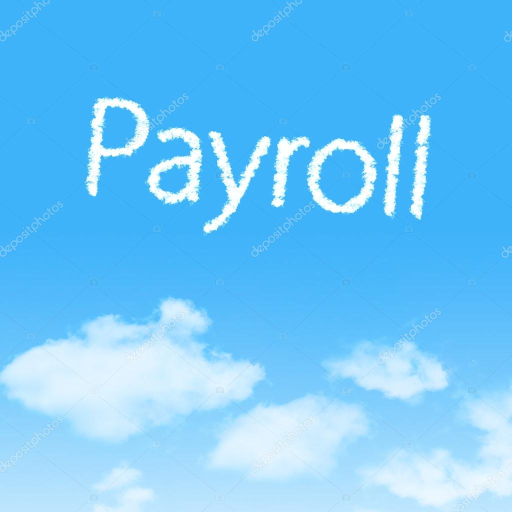 cloud icon with design on blue sky background