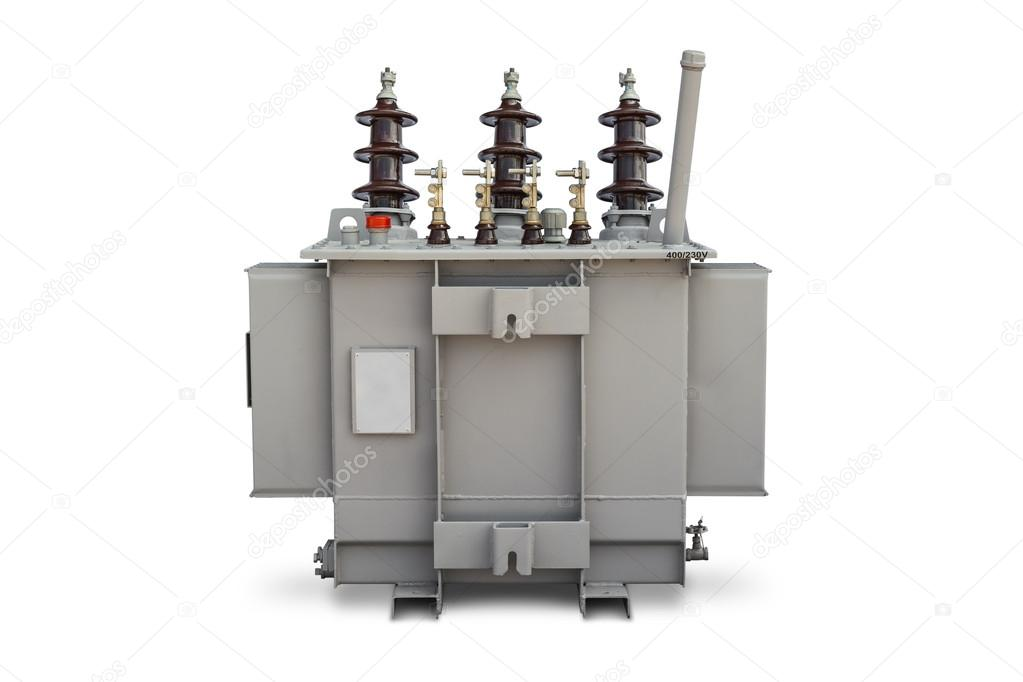 Oil immersed transformer — Stock Photo © teptong #46632515