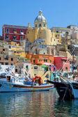 Fotografia Corricella, isola di procida, Italia