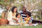 Picknick zusammen