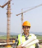 portrét dělníci na staveništi