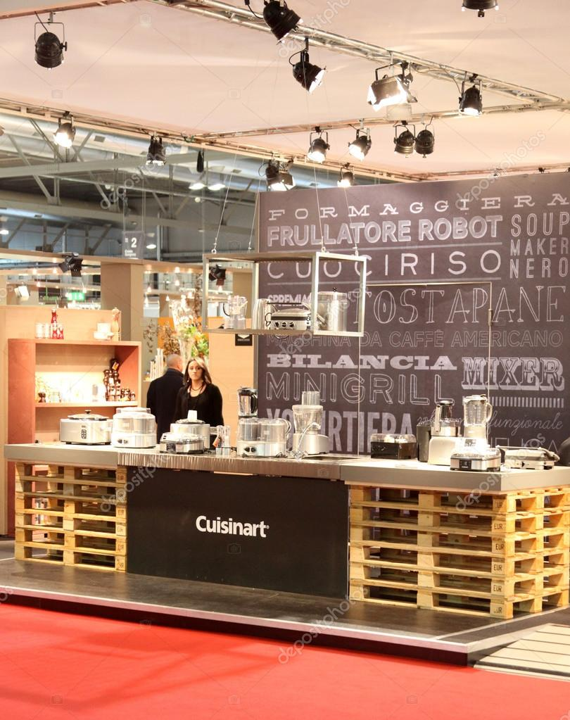 Cuisinart Products Stand At Macef International Home Show Exhibition Dedicated To Interior Design Luxury And Furniture Innovation In Milan Italy