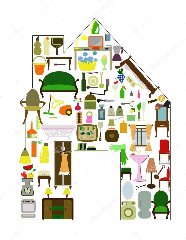 Tutto Per La Casa Vettoriali Stock C Vesnac 45928899