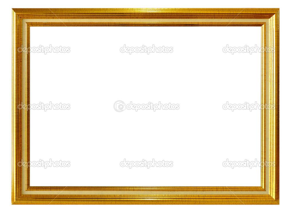 marco dorado antiguo — Fotos de Stock © 501room #43381905