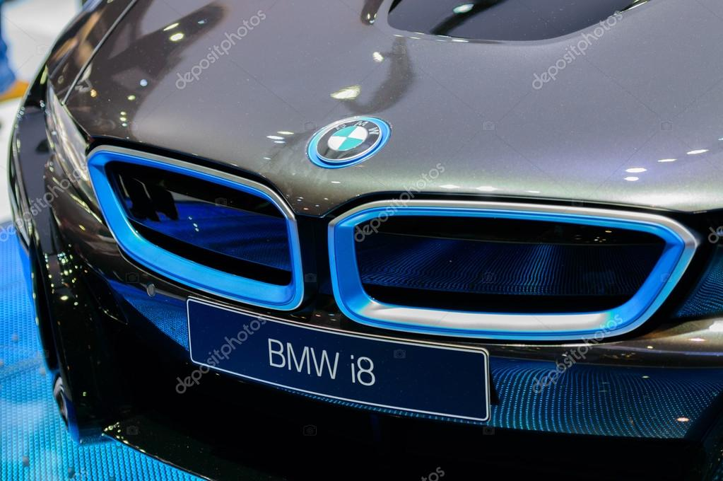 BMW The All-New i8.