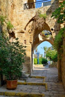 Street in old Yafo.tel aviv.israel