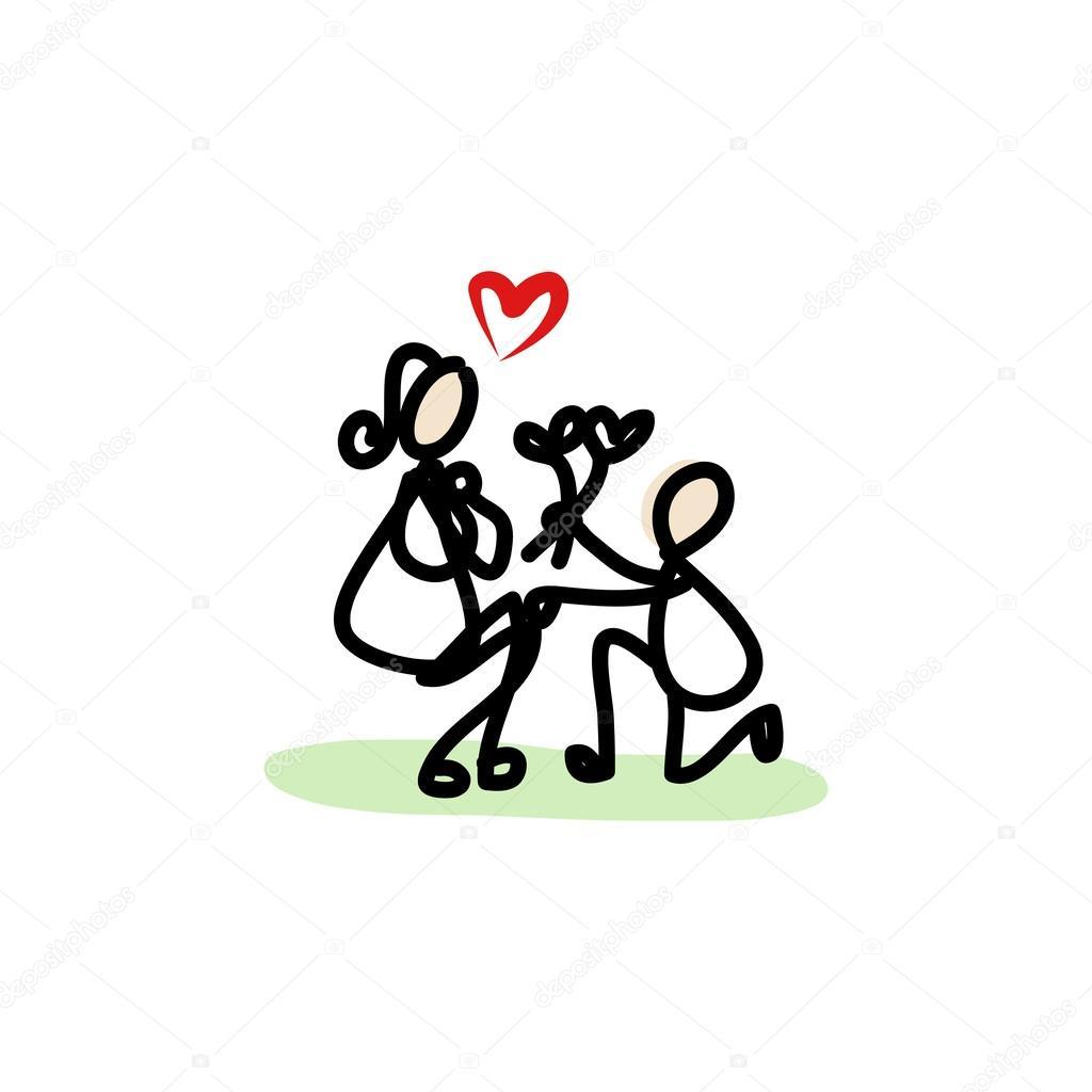 Imágenes Amor Parejas Enamoradas Pareja De Enamorados Vector De