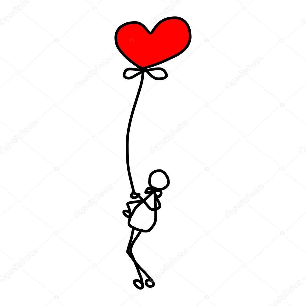 Kresleny Kreslene Laska Stock Vektor C Atthameeni 39203491