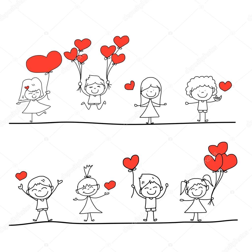 Dibujos Historietas De Amor Amor Dibujos Animados