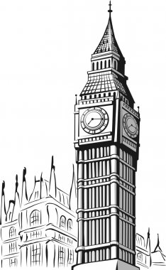 Sketch of Big Ben London