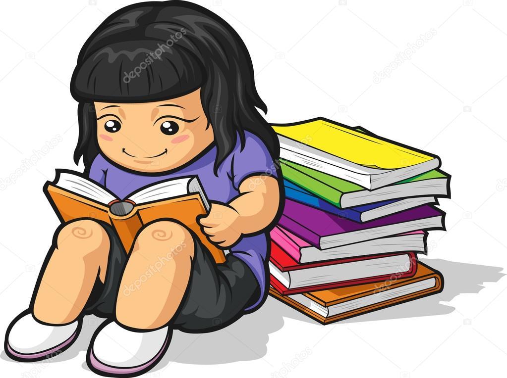 Dibujos Estudiando Animados Dibujos Animados De Estudiante Chica