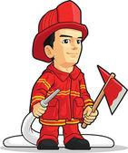 Rajzfilm a tűzoltó fiú