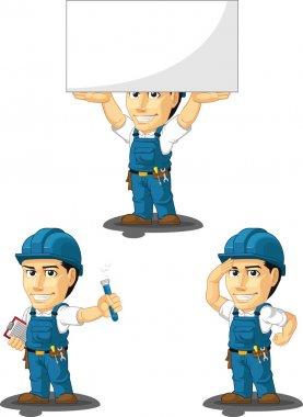 Technician or Repairman Customizable Mascot 8