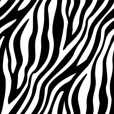 A seamless pattern of zebra's stripes element. Available as a Vector in EPS8 format that can be scaled to any size without loss of quality. clip art vector