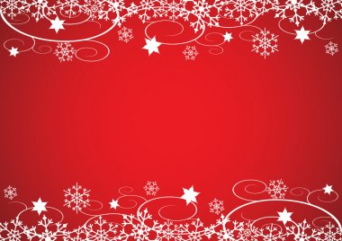 Decorative Christmas Border Vector