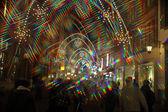 Basilej pouliční osvětlení