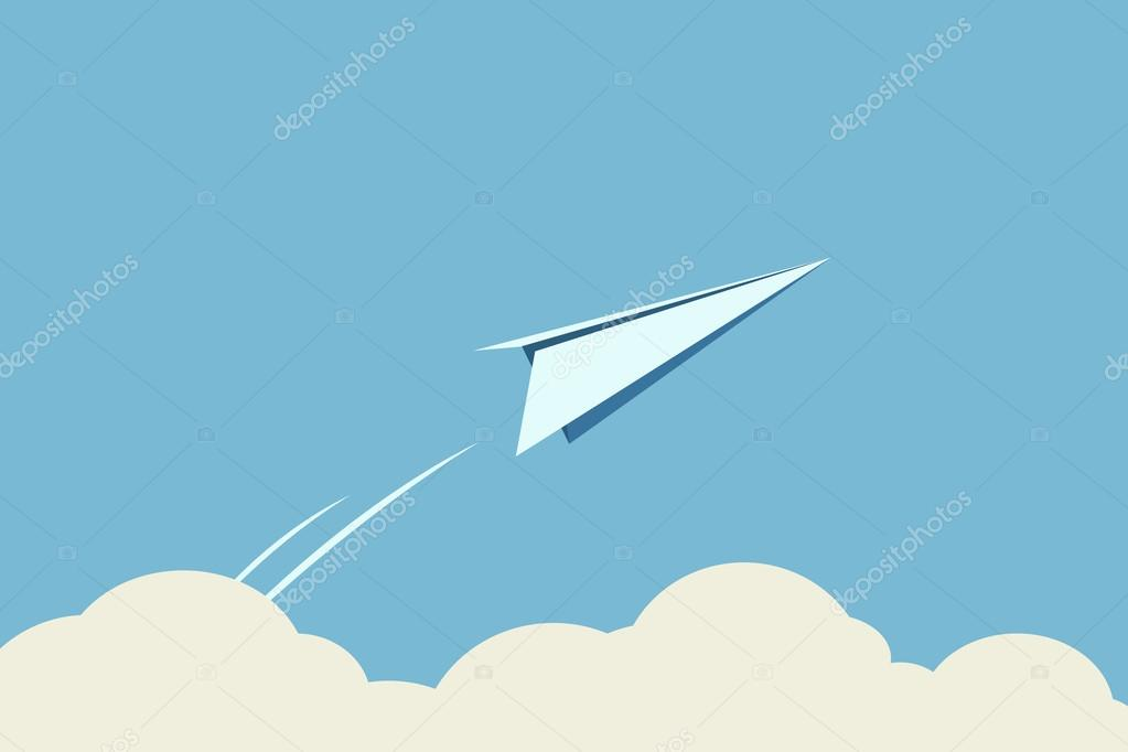 Freedom, paper planes