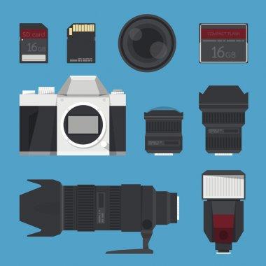 DSLR digital camera accessories.