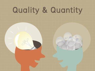 Quality and Quantity, Conceptual