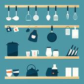 Fotografia utensili da cucina