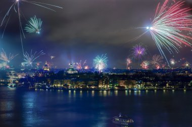 Stockholm New year 2013