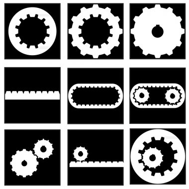 Gear collection icon
