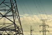 Fotografie elektrické energie přenosové vedení