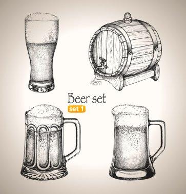 Beer set.
