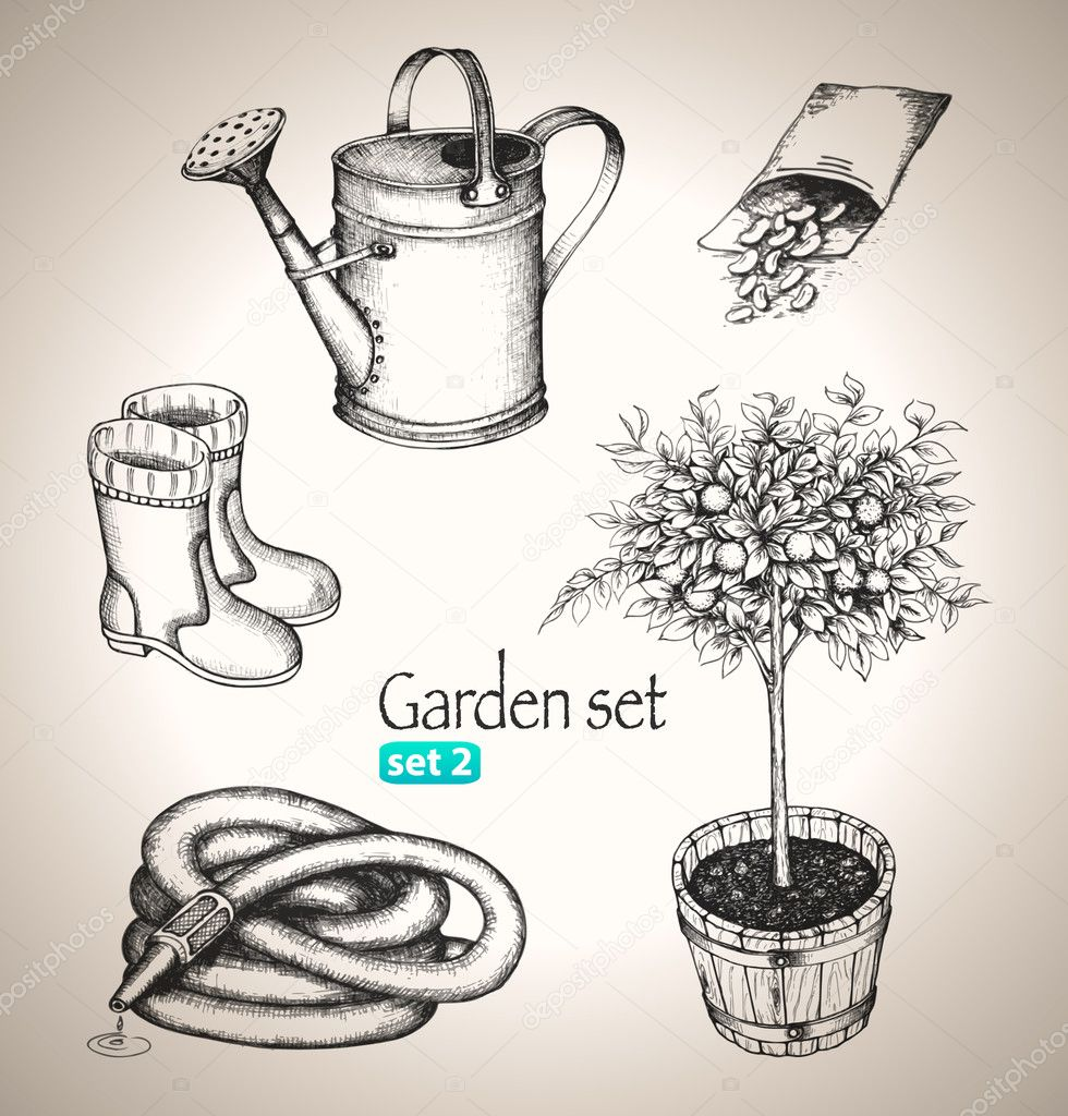 Garden set.