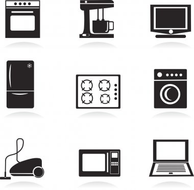 Home electrical appliances set