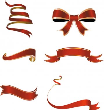 Christmas ribbon.