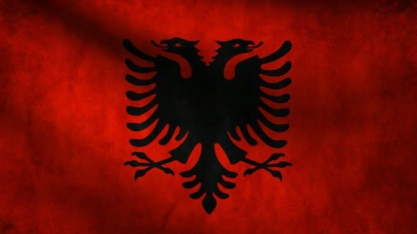 Albania flag.