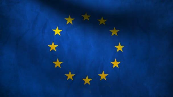 Evropská vlajka.