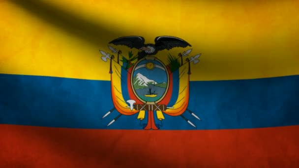 Ecuador flag.
