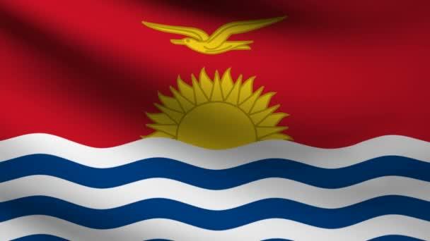 Kiribati flag.