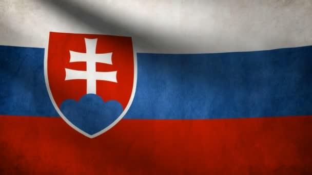 Slowakei-Flagge.