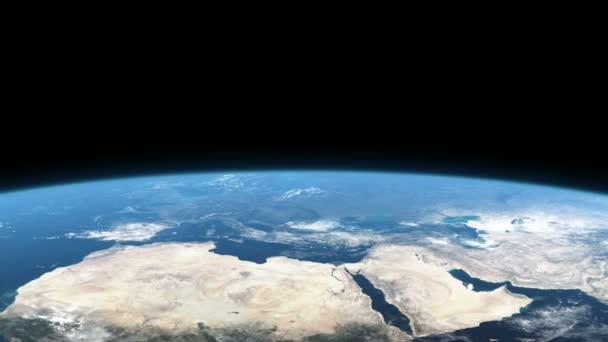země z vesmíru, Evropa, Afrika, Asie