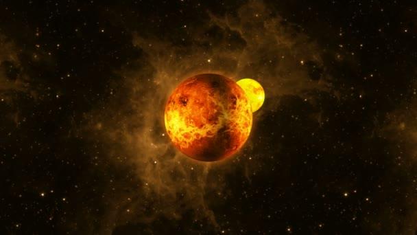 kitörés bolygó kering műholdas.