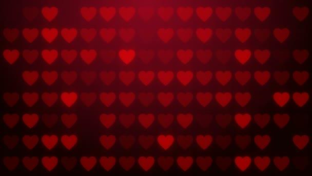 srdce, lásku symbolem, pozadí smyčky