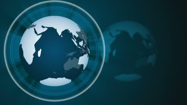 World news globe background